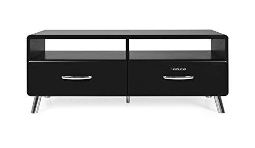 Tenzo 4942-024 Cobra Designer TV-Bank, 46 x 118 x 43 cm, MDF lackiert, schwarz