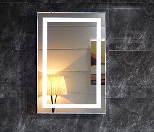 LED-Beleuchtung Badspiegel GS099N Lichtspiegel kaltweiß (50 x 70 cm)