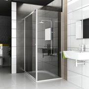 Duschkabine Duschabtrennung Dusche Duschwand Duschtür 2