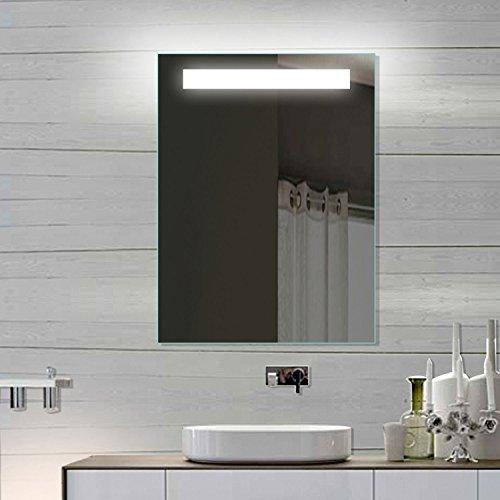 LED Badezimmerspiegel Badspiegel Wandspiegel Lichtspiegel 60x80 SPE6080H