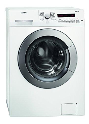 AEG LAVAMAT L73260VSL Waschmaschine FL/A++/156 kWh/Jahr/1200 UpM/6 kg/9890 L/Jahr/Platzsparend/20 Min. Kurzwaschprogramm/weiß