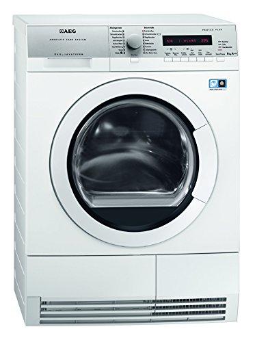 AEG T77684EIH Wärmepumpentrockner/A+++/177 kWh/Jahr/8 kg/Weiß/Silent System