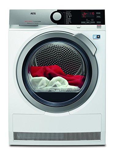 AEG Wärmepumpentrockner/8 kg/kein Einlaufen der Wäsche/weiß