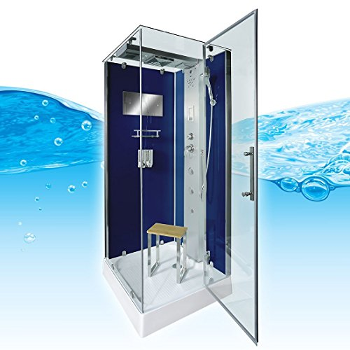 AcquaVapore DTP6038-2203R Dusche Dampfdusche Duschtempel Duschkabine -Th. 100x100, EasyClean Versiegelung der Scheiben:2K Scheiben Versiegelung +99.-EUR
