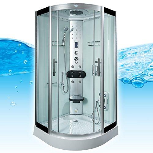 AcquaVapore DTP8058-5002 Dusche Dampfdusche Duschtempel Duschkabine 90x90 XL