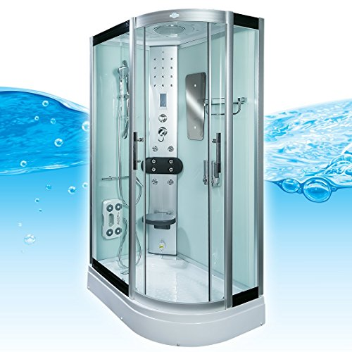 AcquaVapore DTP8060-7002R Dusche Dampfdusche Duschtempel Duschkabine 80x120