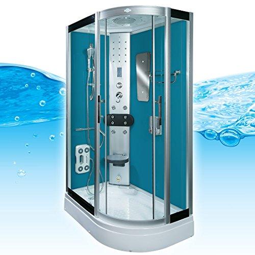 AcquaVapore DTP8060-7103R Dusche Dampfdusche Duschtempel Duschkabine -Th. 80x120