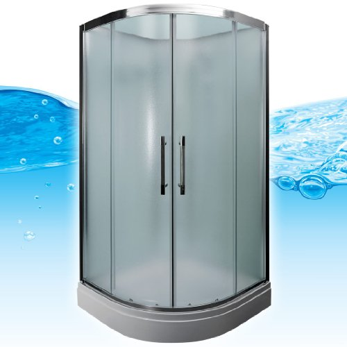 AcquaVapore QUICK16-2010 Dusche Duschtempel Komplette Duschkabine 100x100