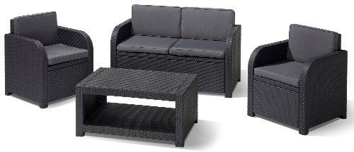 Allibert-Lounge-Set-Modena-Grau-4-teilig-0