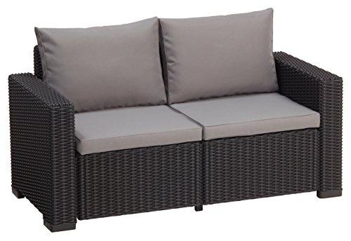 Allibert-Lounge-Sofa-California-Grau-2-Sitzer-0