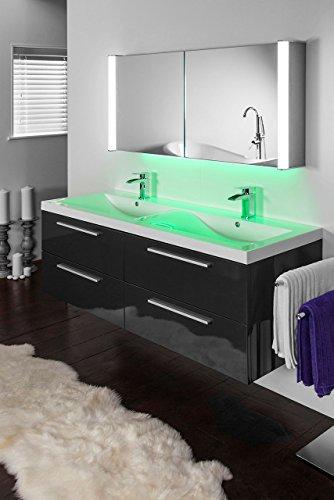 Ambient Aura-Schrank mit Demister-Pad, Sensor & Rasierer k402-1g