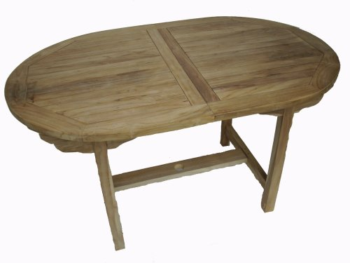 Ambientehome-Teakholz-ausziehbarer-Tisch-Esstisch-oval-Natur-ca-180-240-x-100-cm-0