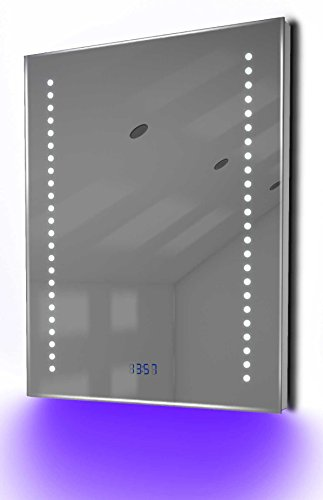 Antibeschlag-Spiegelschrank Bad Raumbeleuchtung, Sensor & Rasiersteckdose K126P