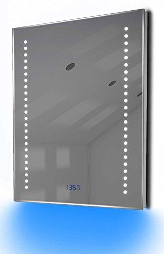 Antibeschlag-Spiegelschrank Bad Raumbeleuchtung, Sensor & Rasiersteckdose K126R