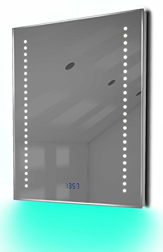 Antibeschlag-Spiegelschrank Bad Raumbeleuchtung, Sensor & Rasiersteckdose K126U