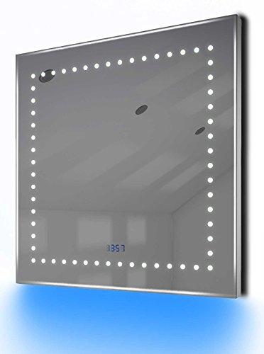 Antibeschlag-Spiegelschrank Bad Raumbeleuchtung, Sensor & Rasiersteckdose K66R