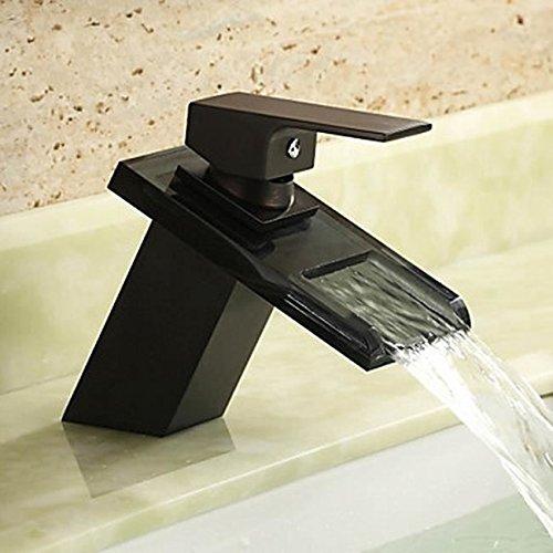 Armatur-Waschbecken-schwarzEinbausple-Glas-Farbe-Badezimmer-0