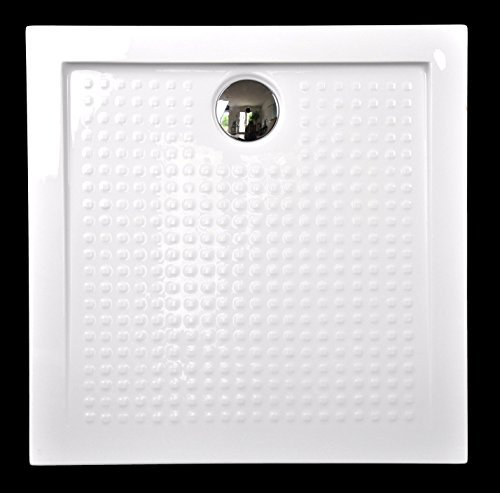 art of baan extra flache duschtasse duschwanne aus acryl weiss hochglanz antirutsch 90x90x35cm. Black Bedroom Furniture Sets. Home Design Ideas