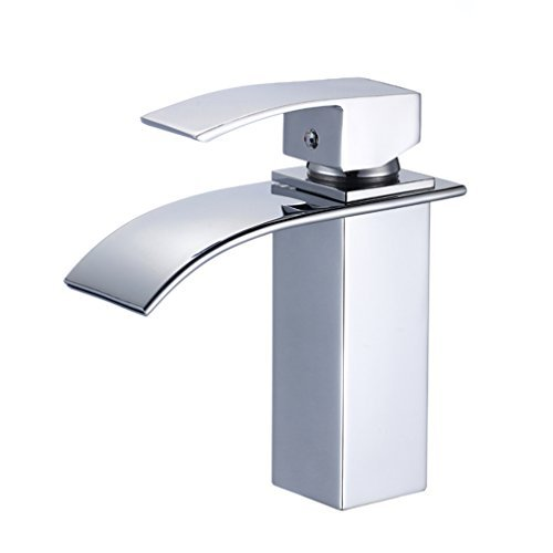 Auralum-Design-Einhebel-Wasserhahn-Armatur-Waschtischarmatur-Wasserfall-Einhandmischer-fr-Badezimmer-Waschbecken-0