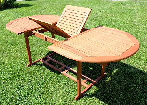 Ausziehtisch-140-180-x-100cm-Holztisch-Gartentisch-Garten-Tisch-gelt-Holz-Eukalyptus-wie-Teak-von-AS-S-0