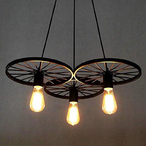 baycheer retro industry design pendelleuchte im loft style esszimmer vintage retro h ngeleuchte. Black Bedroom Furniture Sets. Home Design Ideas