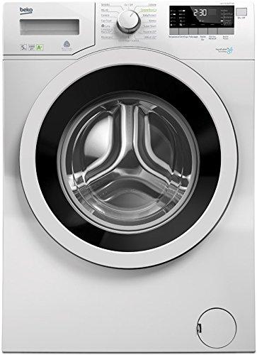 BEKO-wky51031ptmb3-autonome-Belastung-Bevor-5-kg-1000trmin-A-Wei-Waschmaschine--Waschmaschinen-autonome-bevor-Belastung-wei-drehbar-LED-Edelstahl-0
