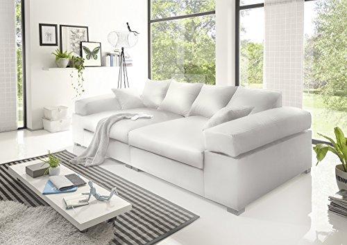 BIG Sofa- Weiss - Modell Hercules