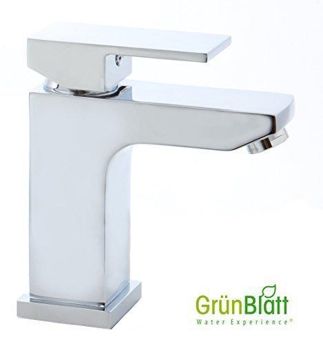 Bad Armatur Waschtischarmatur Wasserhahn mit Zugstange und Exzentergarnitur