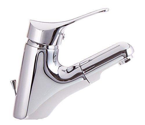 Bad-Armatur-mit-herausziehbar-Brause-und-Zugstange-Waschtischarmatur-Einhebelmischer-Wasserhahn-Haarbrause-Handbrause-Badarmaturen-armaturen-Waschtischarmaturen-0