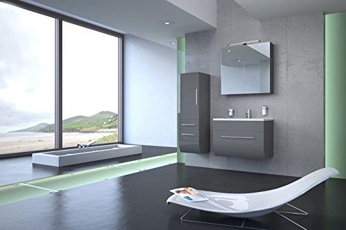 Bad11-3-teiliges-Badmbelset-ZARIF-Hochglanz-grau-mit-70-cm-Waschplatz-mit-Edelstahl-Griffen-und-Mineralguss-Waschbecken-Schubfach-Spiegelschrank-Hochschrank-mit-zwei-Schubfchern-und-Tr-Farbauswahl-0