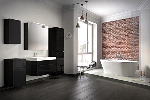Bad11-Badmbelset-Pandora-5-teilig-80-cm-Badezimmer-Mbel-in-hochglanz-schwarz-mit-Waschplatz-inklusive-Mineralguss-Waschbecken-Designerbad-mit-Spiegelschrank-und-Hochschrank-weiterer-Stauraum-durch-Unt-0