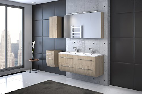 waschbecken hngeschrank best badezimmer weiss inkl led beleuchtung mit obi poco archived on. Black Bedroom Furniture Sets. Home Design Ideas