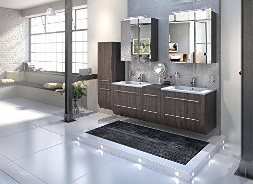 Bad11-Badmbelset-ZESIRO-in-Farbe-Trffeleiche-Holzoptik-4-teiliges-Komplettset-mit-Doppelwaschbecken-inklusive-Keramik-Waschbecken-Hochschrank-bietet-viel-Stauraum-2-x-Spiegelschrank-Farbauswahl-0