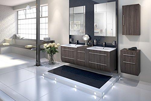 Bad11-Badmbelset-ZESIRO-in-Farbe-Trffeleiche-Holzoptik-5-teiliges-Komplettset-mit-Doppelwaschbecken-inklusive-Keramik-Waschbecken-Unterschrank-und-Hngeschrank-bieten-viel-Stauraum-2-x-Spiegel-Farbausw-0