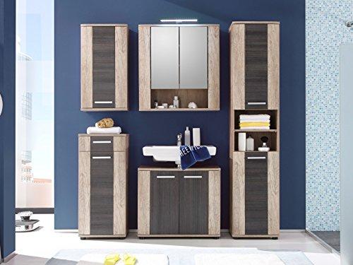 Badezimmer Komplett Bad Komplettset Schrank Badezimmer