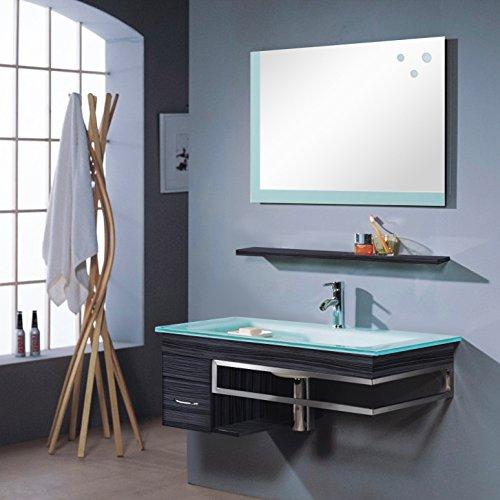 Badezimmermbel-Set-Badmbel-Bari-Wenge-M-70130238-Spiegel-Unterschrank-Waschbecken-0