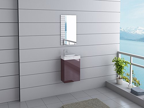 Badmbel-California-Gste-WC-Waschtisch-Set-11-moderne-Farben-0