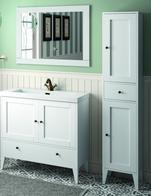 Badmöbel Salgar Boehme weiß Waschtischunterschrank 900 mm