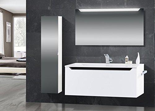 Badmbel-Set-mit-Waschtisch-120-cm-Schwarz-Hochglanz-Griffleiste-0
