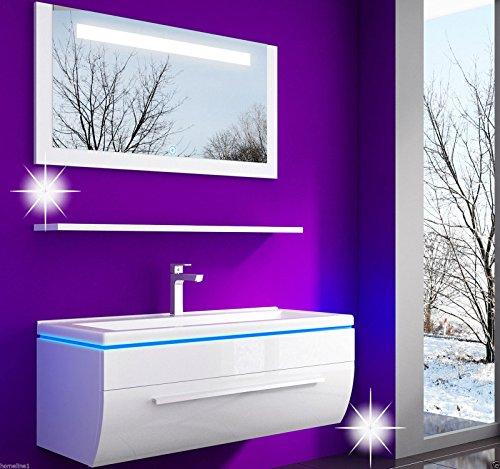 Badmbel-set-Atlantis-Hochglanz-Lackiert-Fronten-Weiss-90-cm-spiegelschrank-mit-beleuchtung-Waschbecken-0