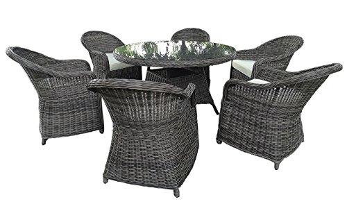 baidani gartenm bel essgruppe charme grau m bel24. Black Bedroom Furniture Sets. Home Design Ideas