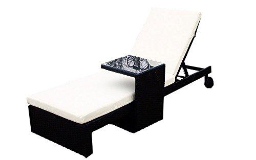 Baidani-Gartenmbel-Sets-10b0000600001-Designer-Lounge-Liege-Holiday-Liege-Beistelltisch-Auflage-schwarz-0