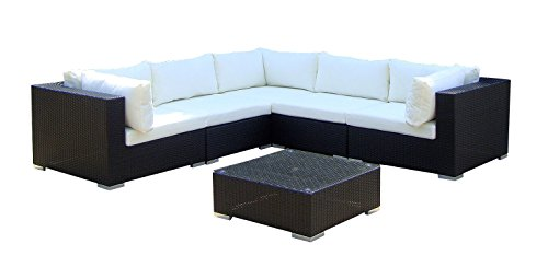 Baidani-Gartenmbel-Sets-10c0001700001-Designer-Lounge-XXL-Sofa-Sunshine-Sofa-Beistelltisch-schwarz-0