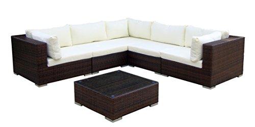 Baidani-Gartenmbel-Sets-10c0001700002-Designer-Lounge-XXL-Sofa-Sunshine-Sofa-Beistelltisch-braun-0
