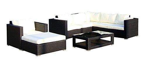 Baidani-Gartenmbel-Sets-10c0002000001-Designer-Lounge-Wohnlandschaft-Sunset-Eck-Sofa-1-Sessel-1-Hocker-1-Couchtisch-mit-Glasplatte-schwarz-0