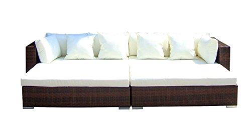 Baidani-Gartenmbel-Sets-10d0000100002-Designer-Rattan-Lounge-Paradise-2-Sofas-Sitzauflage-Kissen-braun-0