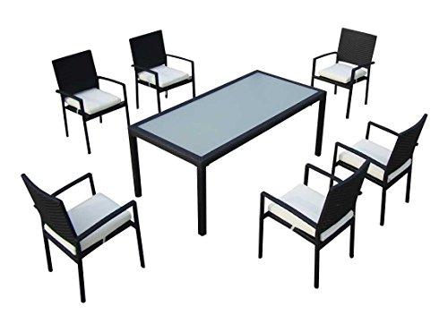 Baidani-Gartenmbel-Sets-10d0000300001-Designer-Rattan-Essgruppe-Horizon-1-Tisch-6-Sthle-schwarz-0