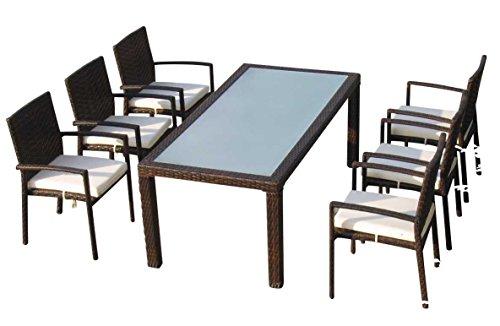 Baidani-Gartenmbel-Sets-10d0000300002-Designer-Rattan-Essgrupp-Horizon-1-Tisch-6-Sthle-braun-0