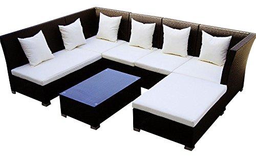 er sofa 2er sofa 1 hocker couch tisch mit glasplatte schwarz. Black Bedroom Furniture Sets. Home Design Ideas