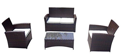 Baidani-Gartenmbel-Sets-10d0000800002-Designer-Garnitur-Breeze-1-Tisch-mit-Glasplatte-2-er-Sofa-2-Sessel-braun-0